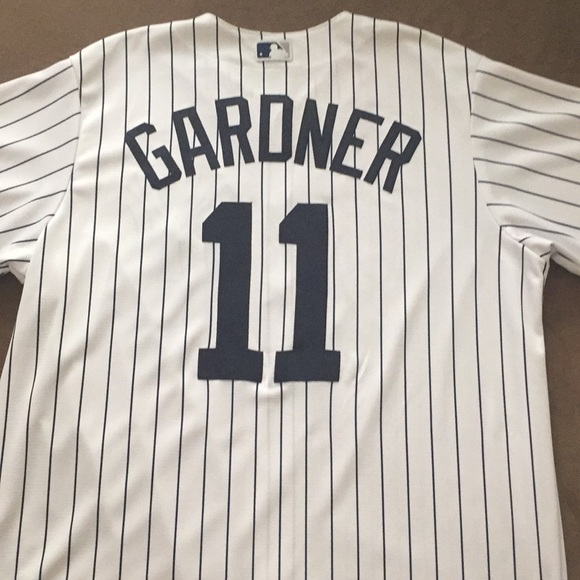 purchase cheap c2462 7182a New York Yankees- Brett Gardner #11 Jersey
